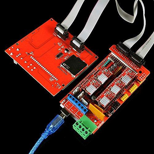 OSOYOO 3D Printer Kit with RAMPS 1.4 Controller + Mega 2560 board + on