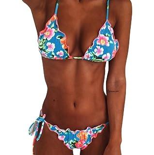 K-youth Bikini Mujer 2018 Verano Sujetador Bikini Push up Mujer Bikini Cuello Halter Ropa