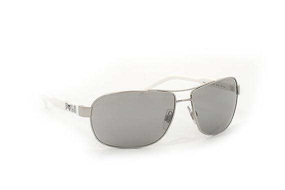 Amazon.com: Polo – Gafas de sol PH 3053 90018 V plata: Clothing