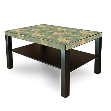 Amazonde Banjado Möbelaufkleber Ikea Lack Tisch Möbelfolie 90x55cm