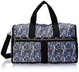 LeSportsac Women's Essential Large Weekender, Painted Hearts Blue For Sale
