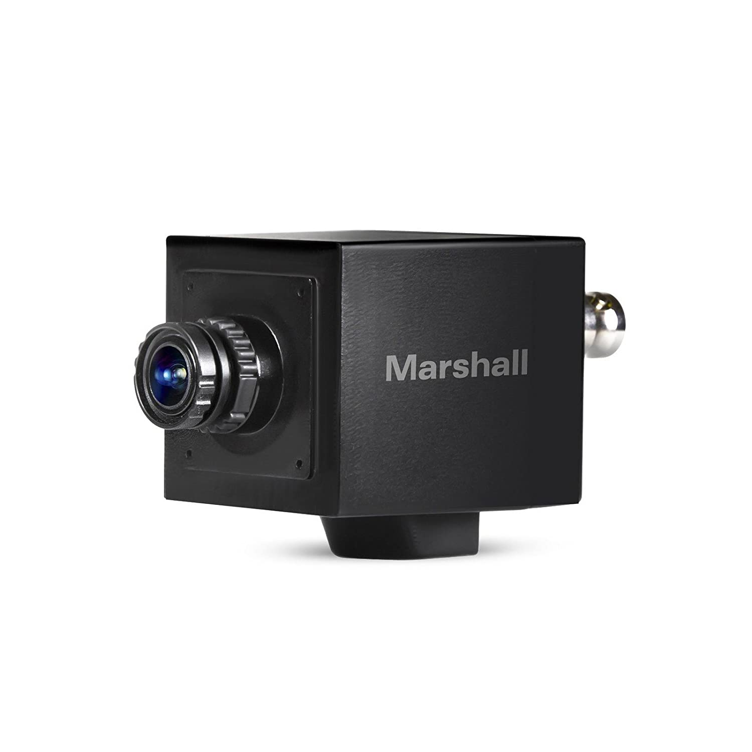 Marshall Electronics cv505-mb | Interchangeable 3.7 MMレンズHD 3 G SDI 1080p 59 FPS HDMI入力コンパクトブロードキャストカメラ   B01BLUCO5G