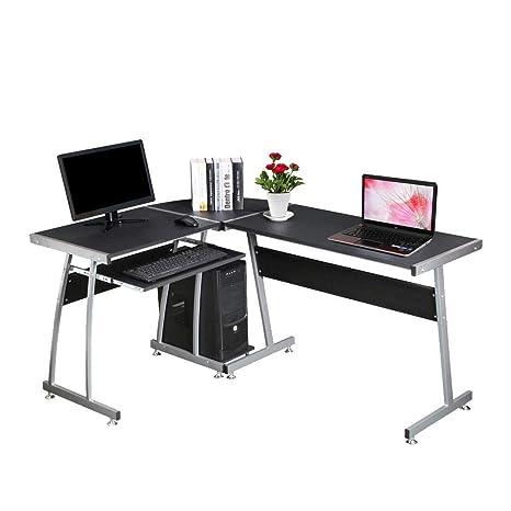 Mobile Ad Angolo Per Computer.Generico Mobili Per Ufficio Tavolo On Per Casa O Con Forma Ad
