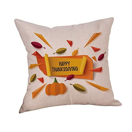 Cool Amazon Com Facebb Thanksgiving Embroidered Pillow Cover Gmtry Best Dining Table And Chair Ideas Images Gmtryco