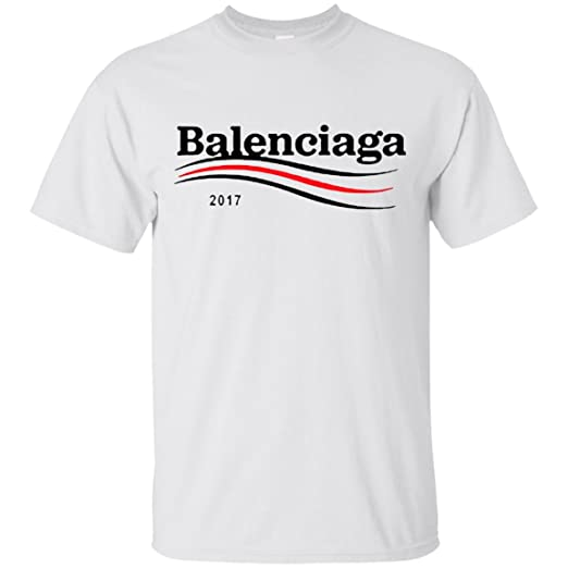 31cd72bf3 Image Unavailable. Image not available for. Color: Balenciaga Waves Logo T- shirt ...