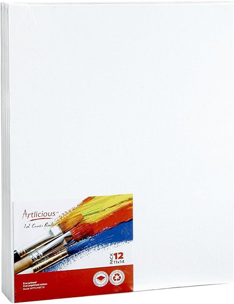Papel de lona de artista Artlicious para pintar 28*26cm-24UN