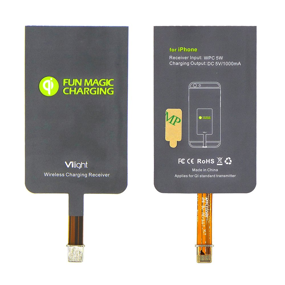 VILIGHT Qi Wireless Charging Receiver
