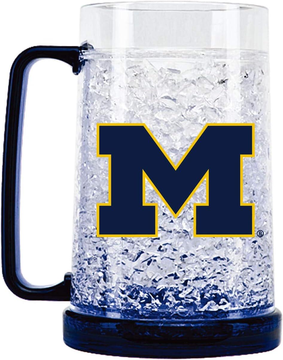 Sports Images, Inc. Michigan Wolverines Single Crystal Freezer Mug from Duckhouse