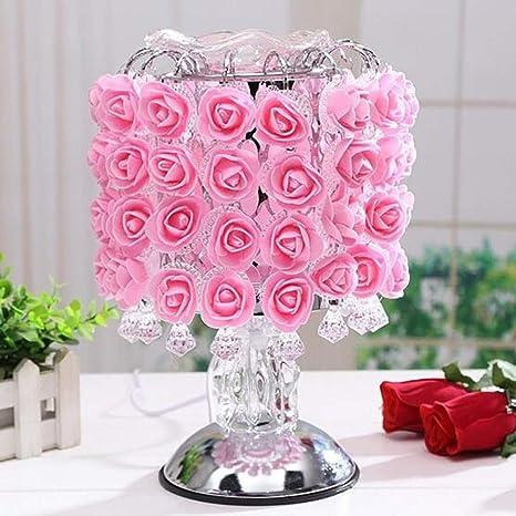 Waitinsd Aromática Rosa inducción Fragancia lámpara Creativa ...