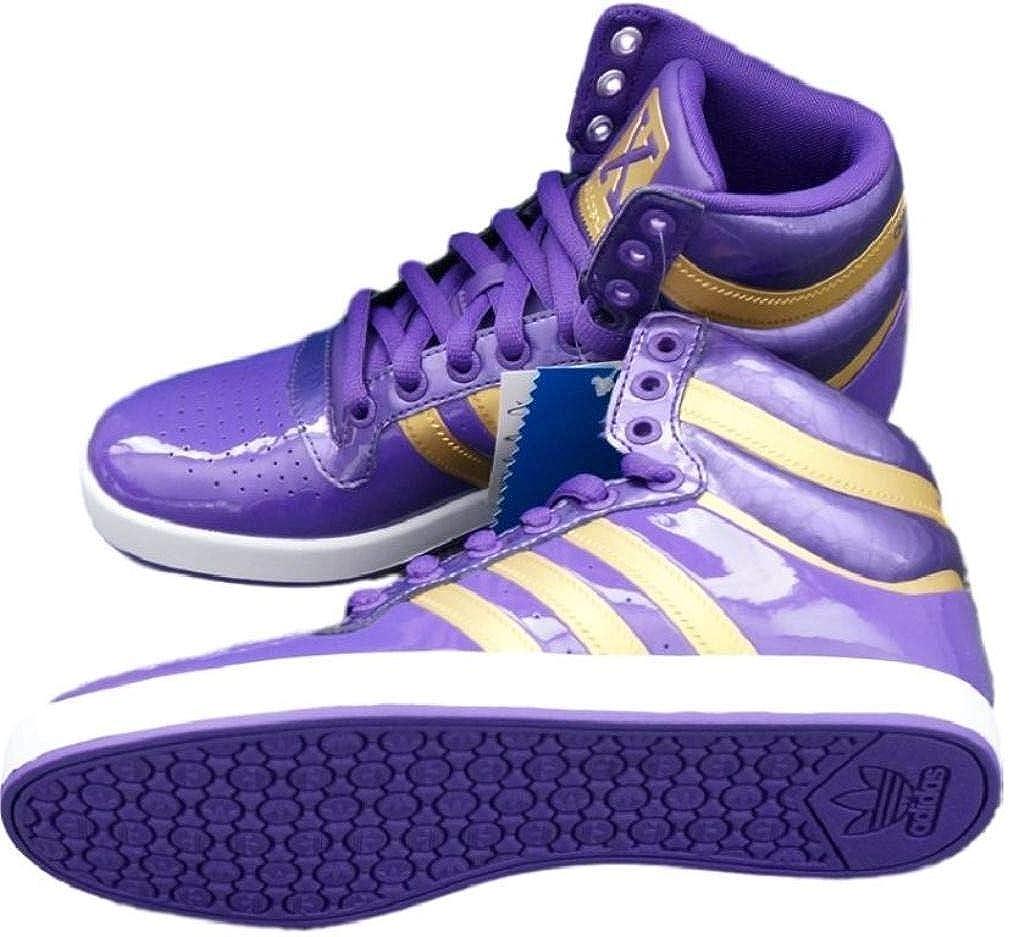 Adidas Adidas Adidas Originals Herren Schuh TOP X , Lila-Gold , G21762 (UK 7 1 2) 24af73