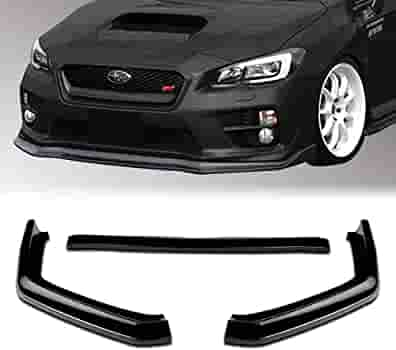 Stay Tuned Performance PU//697//PBK Painted Black Front Bumper Body Kit Lip 3PCS Compaitble with 2013-2016 BRZ