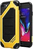 Ringke MAX, Custodia Protezione Dual Layer Avanzata, Armatura Elegante e Resistente per Apple iPhone 7/iPhone 8, Multicolore (Bumblebee)
