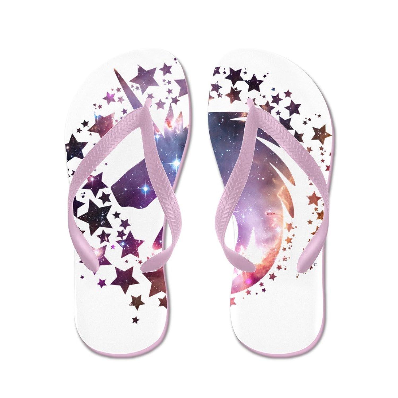 e1cbf74827a9 CafePress Unicorn Universe - Flip Flops