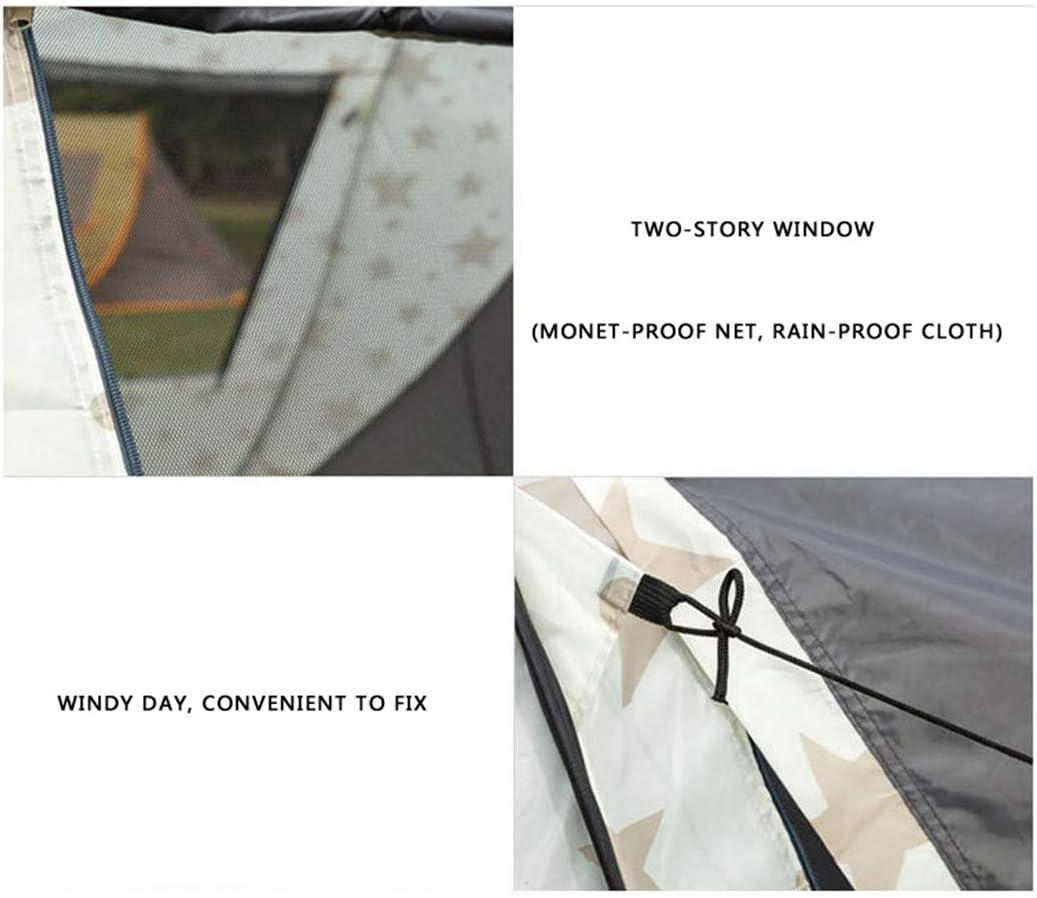Tienda De Campa/ñA 5-8 Personas Tienda Pop Up Tienda De Campa/ñA Para Tienda Unisex Portatil Impermeable Para Camping Al Aire Libre Festival De Musica Monta/ñIsmo Camping Picnic Aventura Pescar
