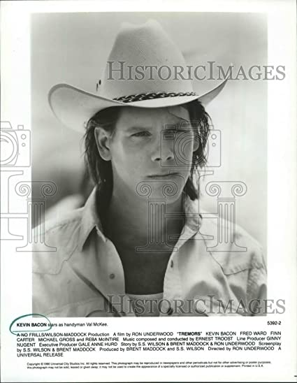 1990 Press Photo Actor Kevin Bacon as handyman Val McKee in ...