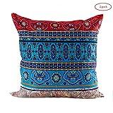 Large Bedroom Cushion: Moroccan Bohemian Exotic