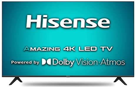 Hisense 146 cm (58 inches) 4K Ultra HD Smart Certified Android LED TV 58A71F (Black) (2020 Model)   With Dolby Vision and ATMOS