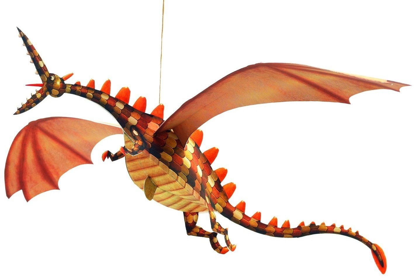 2265 Djeco Hanging Paper Decor Multi-colored Hotaling Inc Merciless Dragons