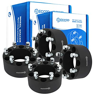 "ECCPP 4PCS 6 lug 6x139.7mm Wheel Spacers Adapters 6x5.5 to 6x5.5 14x1.5 108mm CB 3"" compatible with GMC K1500 Suburban GMC K2500 GMC Savana 1500 GMC Sierra 1500: Automotive"