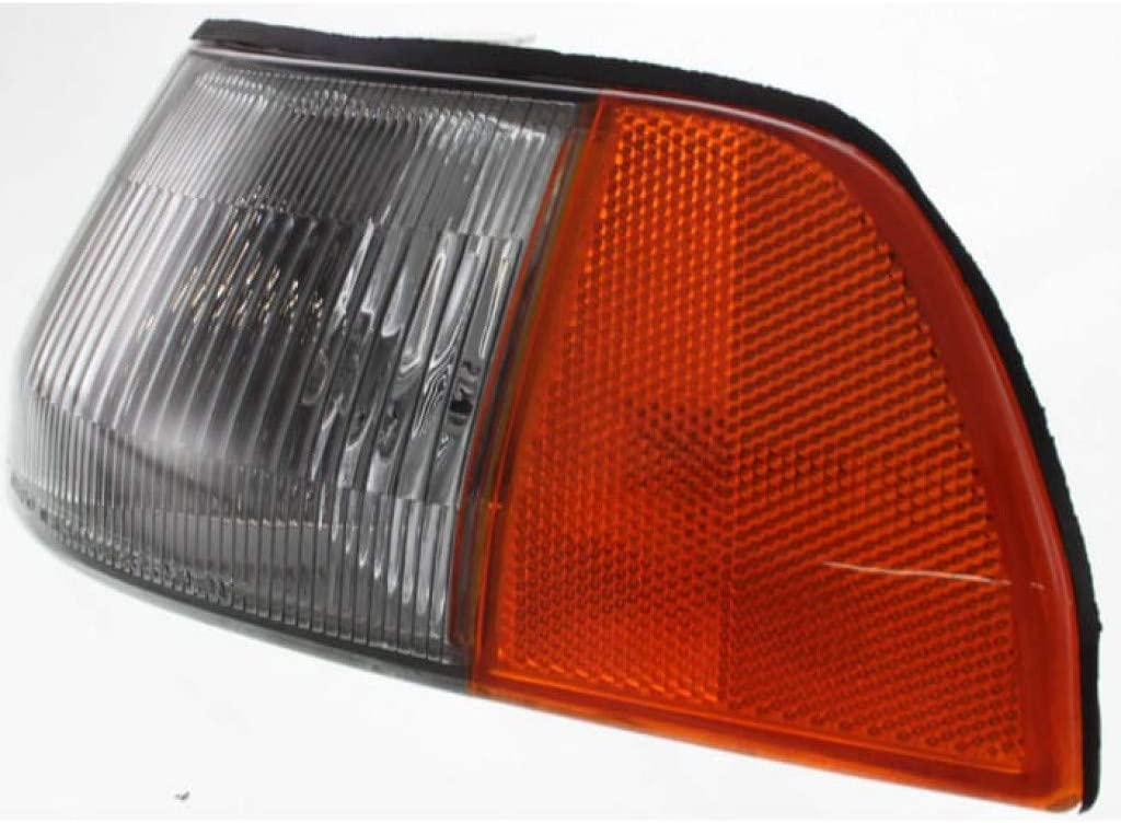 AC2550101 For Acura Integra Corner Light 1990 91 92 1993 Driver Side Clear /& Amber Lens 33850SK7A01