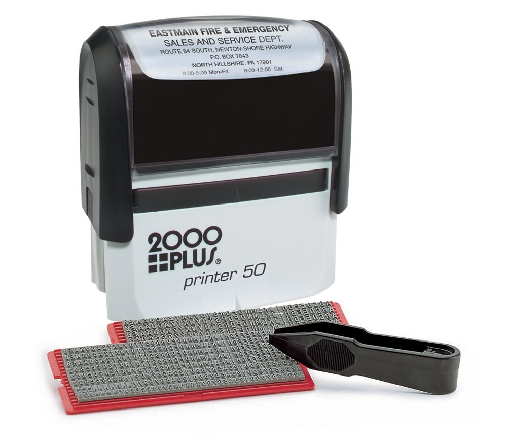 2000Plus Black Ink Business Stamp Pad Refill (026288)