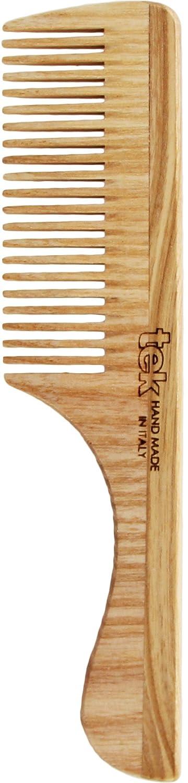 Pettine a denti fitti con manico - Handmade in Italy TEK s.r.l.
