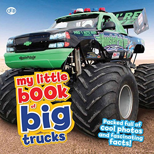 My Little Book of Big Trucks: Packed full of cool photos and fascinating facts! (My Little Book Of Big Trucks compare prices)