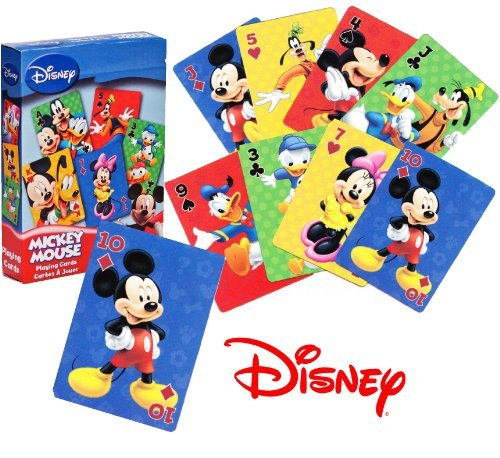 Cards Playing Mickey Mouse (Mickey Mouse Playing Cards)