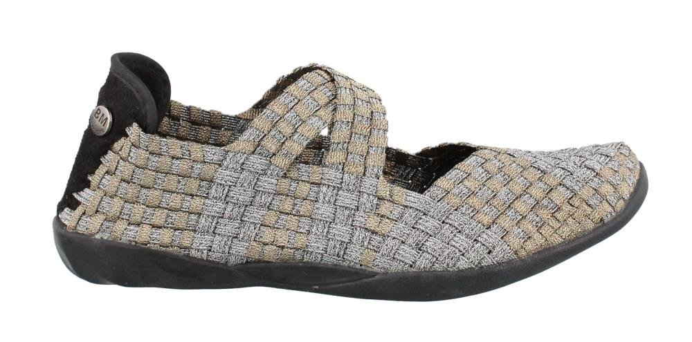 Bernie Mev Women's Champion Slip-On Casual Shoe B01HHII1LC 40 M EU|Bronze Pewter