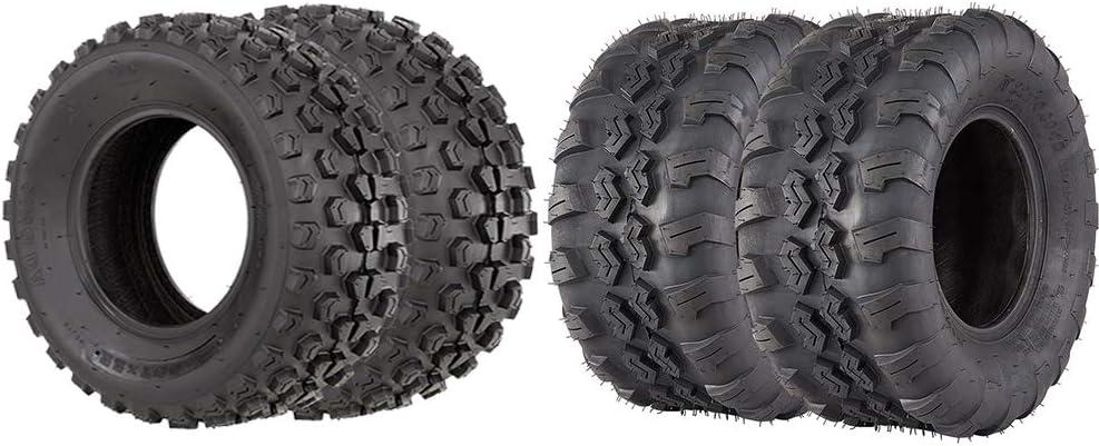 VANACC ATV UTV Tires Front 22x7X10 Rear 22x10-10 Tires 4 PR Tubeless