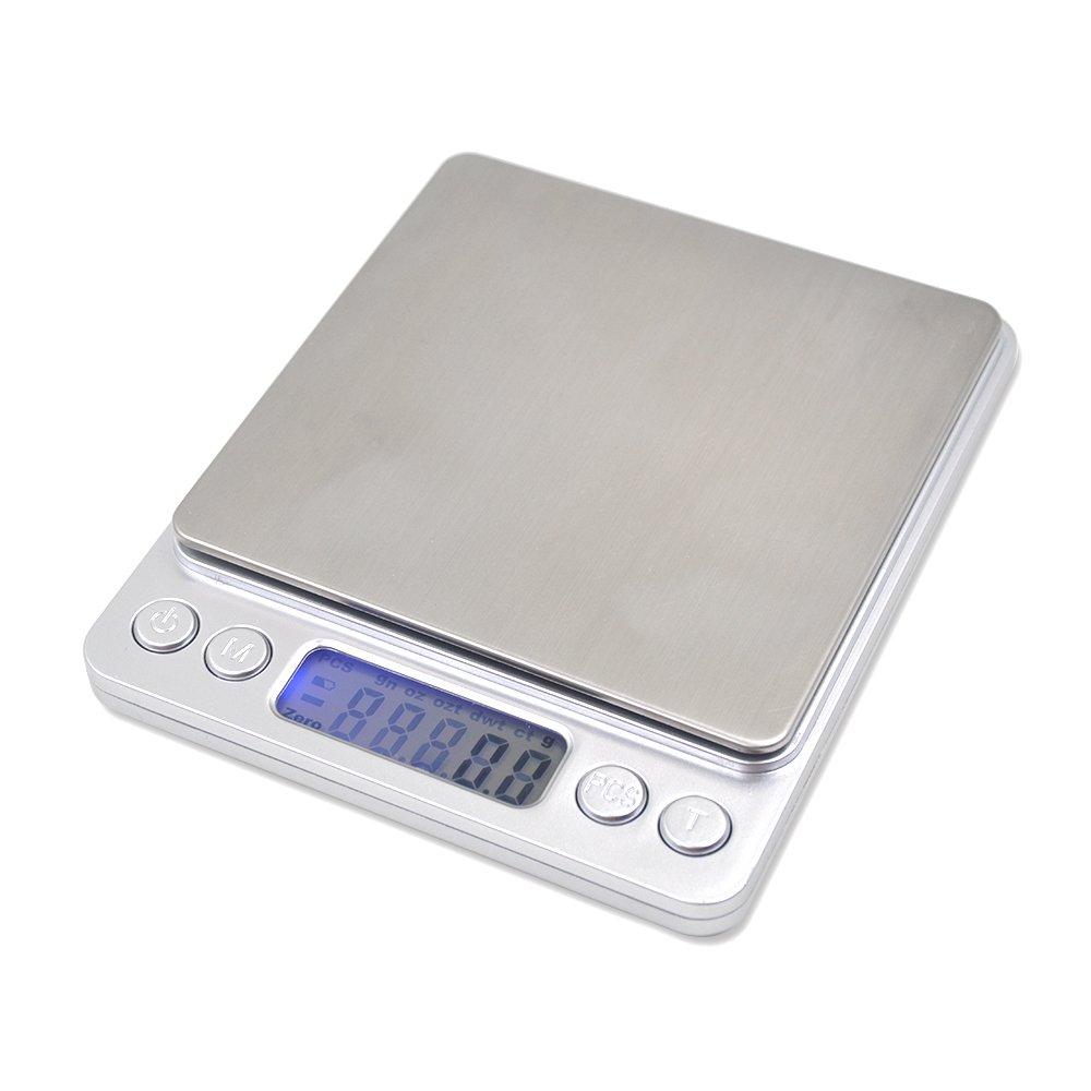 Balance /électronique,3kg~0.1g Balance Num/érique pour fruits// l/égumes// farine// m/édecine// lait// caf/é// th/é// levure