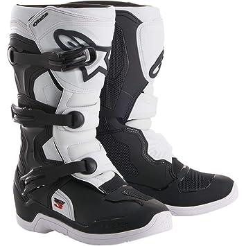 économiser magasin britannique bas prix Bottes Motocross Enfant Alpinestars Tech 3 S Noir-Blanc (Eu 38 / Us 5 ,  Blanc)