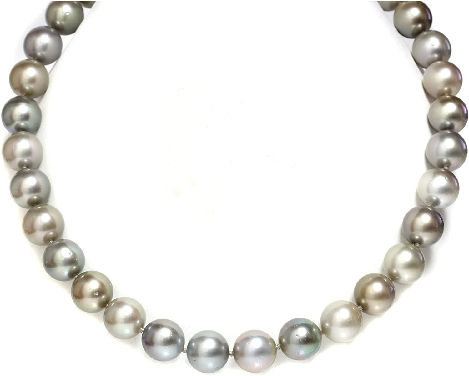 Unisex Tahitian Pearl NecklaceGenuine Tahitian Pearl ChokerTahiti Pearl NecklacePearl on LeatherSurf JewelryGift For Her For HimYevga