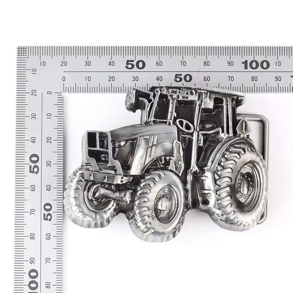 auto truck g/ürtelschnalle f/ür m/änner frauen Corrosionp g/ürtelschnalle westlichen bulldogge motorrad
