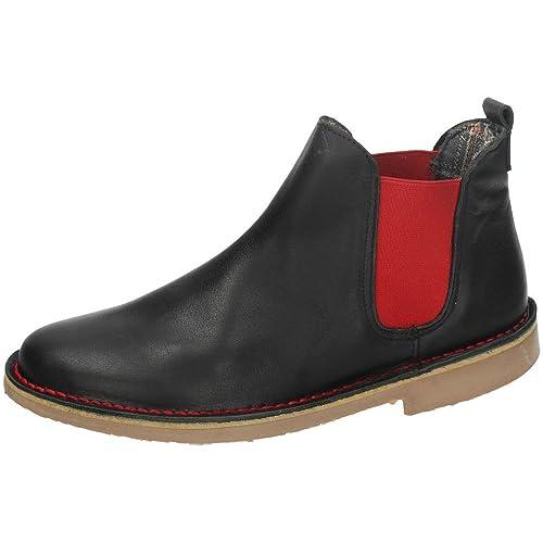 EL CORZO 800 Botin DE Piel Moda Mujer Botines Negro 35: Amazon.es: Zapatos y complementos