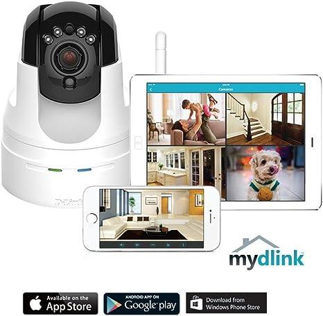 D-Link DCS-5222L HD Pan Tilt Wi-Fi Camera White Certified Refurbished