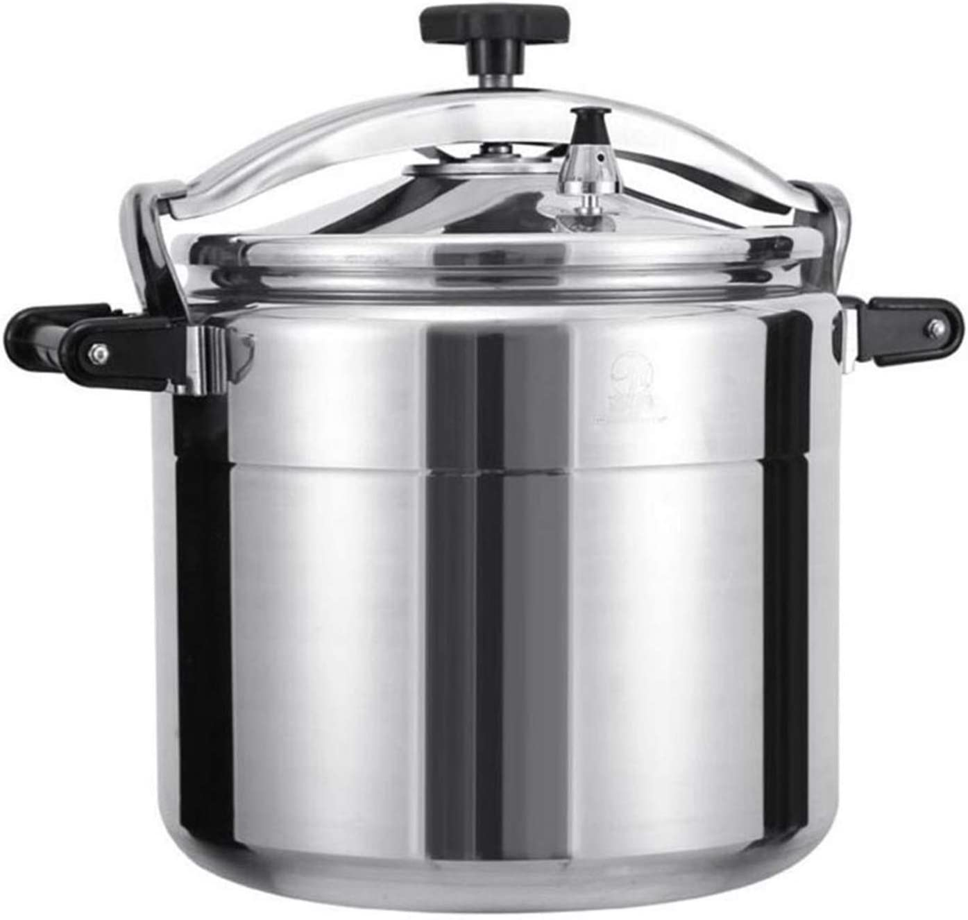 Aluminum explosion-proof pot commercial pressure cooker family restaurant canteen school, large-capacity thickened pressure cooker gas stove for open flame use 11L, 15L, 20L, 25L, 33L, 40L, 50L