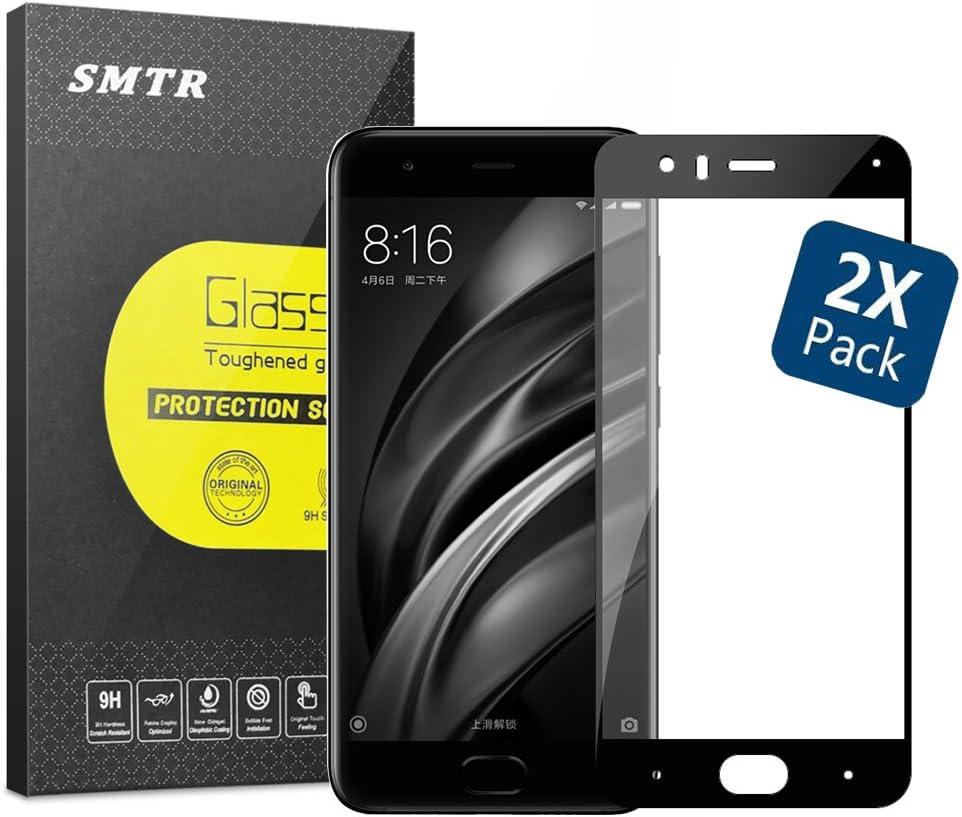 SMTR Cristal Templado para Xiaomi Mi6, 9H Rounded Edge: Amazon.es ...