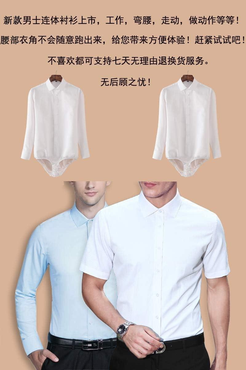 RSL Vestimenta Profesional Color sólido Camisa de Manga Larga ...