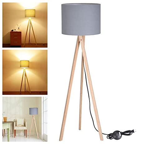 web tripod floor r ash click zoom to habitat wooden product lamps buy lamp argos