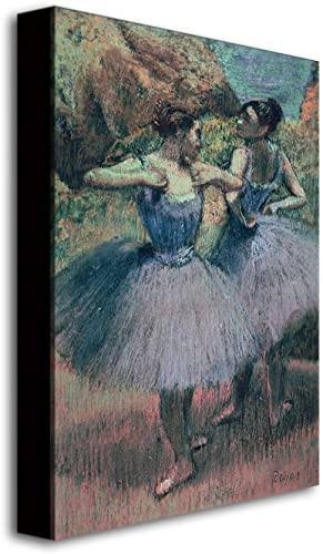 Dancers In Violet - a good cheap canvas wall art