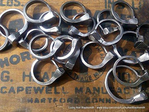 Nail Ring (Horseshoe Nail Ring)