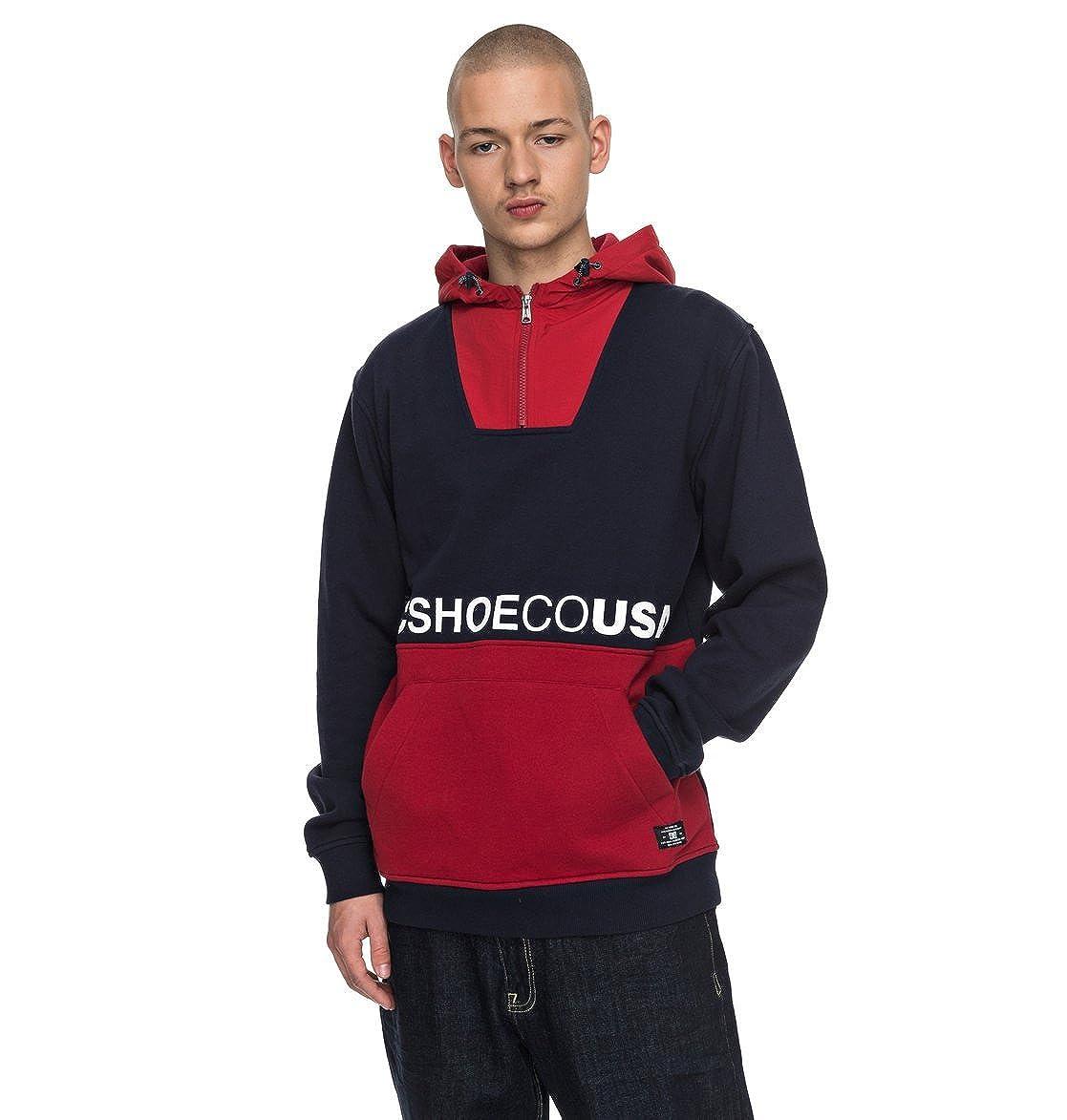 DC Schuhes Longden - Hoodie mit Reißverschluss-Kragen für Männer EDYFT03313