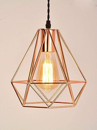 Amazon.com: Lámpara de techo de montaje empotrado retro ...