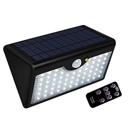 Proyector solar Luz solar Lámpara de pared Exterior Iluminación al aire libre