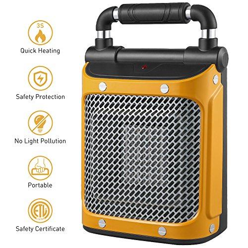 1000 watt electric heater - 5