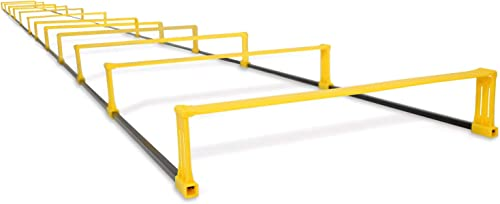 Yes4All Agility Ladder with Carry Bag Footwork Ladder – Multi Choices 8, 12, 20 Rung and Combo with Agility Cones