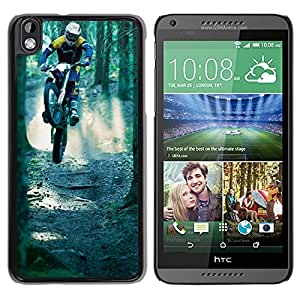 New Beautiful Custom Designed Cover Case For HTC Desire 816 With Motocross Phone Case