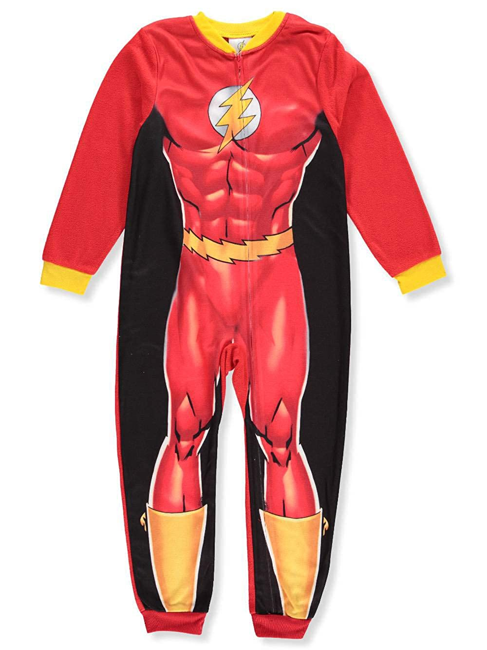 DC Comics The Flash Little Big Boys Sleeper Pajama S 6 7