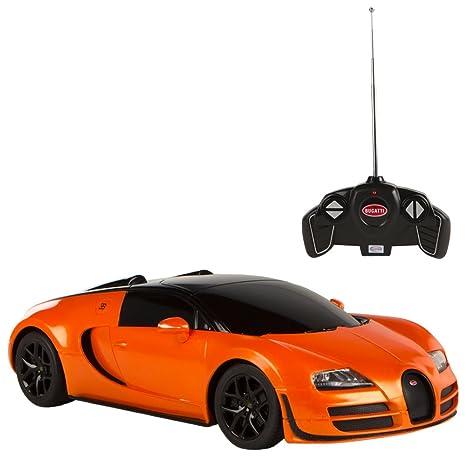 Rastar - Bugatti Veyron Gran Sport Vitesse, coche teledirigido, escala 1:18,